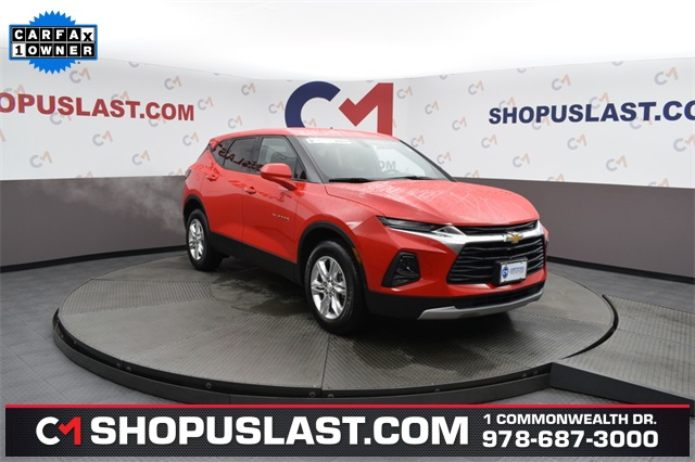 Certified Pre-Owned 2019 Chevrolet Blazer Base