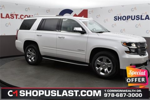 Certified Pre-Owned 2016 Chevrolet Tahoe LTZ